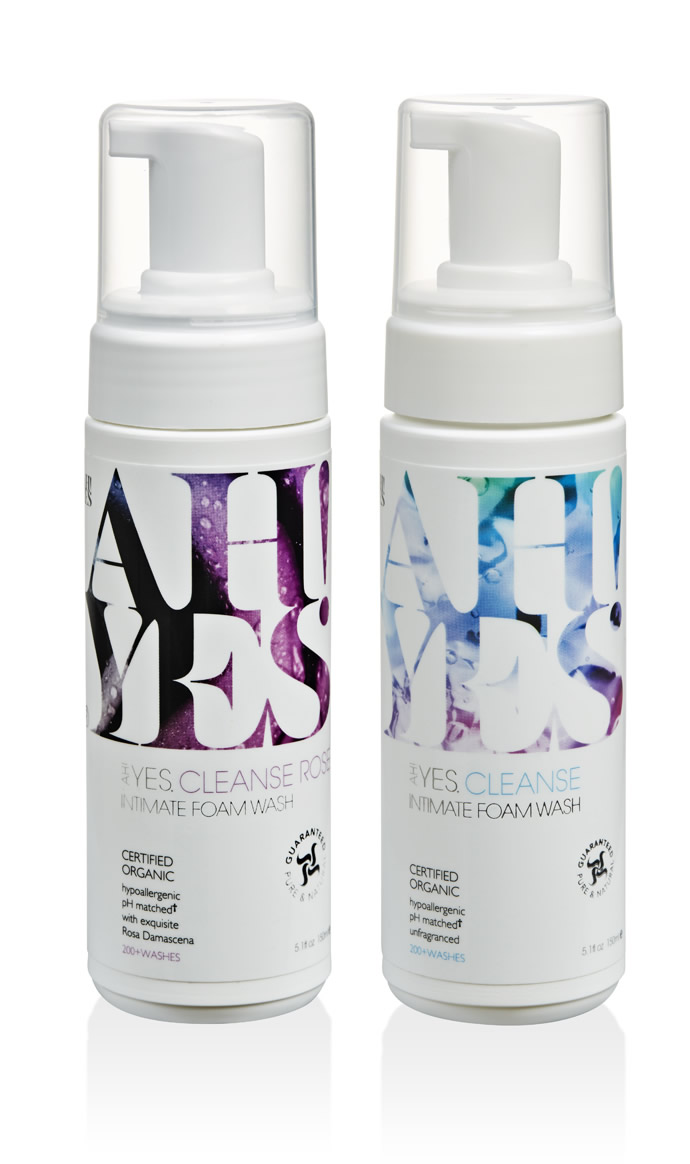 AH! YES CLEANSE Rose 5.1fl oz + Unfragranced 5.1fl oz
