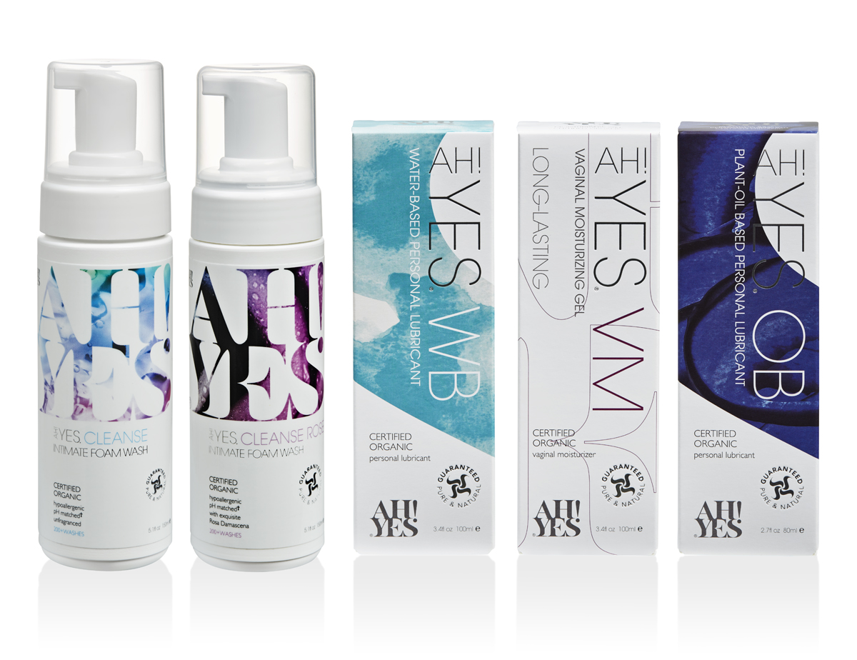 YES natural personal lubricants