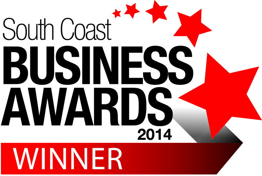 South coast business awards 2014 Winner