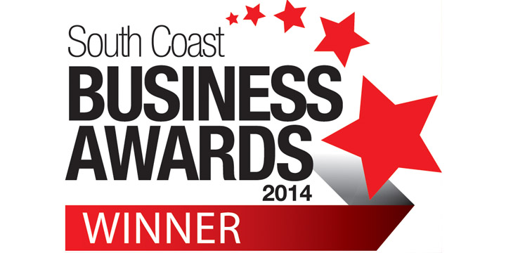 South Coast Business Award Winner 2014